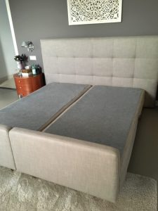 Gestoffeerd Bed Inge Design